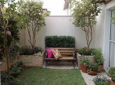 Resultado de imagen para pequeños jardines en espacios cerrados