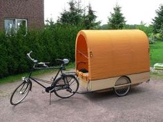 The post your trailer thread. - Page 14 - Bike Forums Trailer Tent, Camper Trailers, Travel Trailers, Cool Bicycles, Cool Bikes, Bike Motor, Zelt Camping, Velo Cargo, Mini Camper