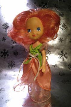 Rose petal doll