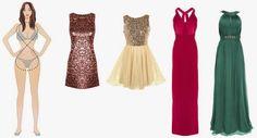 Renata Venturini, blog: O vestido ideal para seu tipo de corpo! Plus Size Chic, Hourglass Fashion, Mademoiselle, Prom Dresses, Formal Dresses, Personal Stylist, Body Shapes, Casual Wear, Stylists