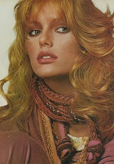 Patti Hansen by Irving Penn for Vogue US August 1977