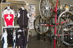 Assos clothing and wheels