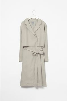 COS layered trench coat