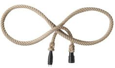 Rope extension cord-at the very least can there be an ATTRACTIVE wire cozy that blends with decor?!
