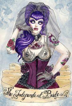 Independent Bride by koffinkandy on DeviantArt