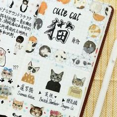 Masking Decorative Washi Tape Sticky Paper Cat Style Scrapbook Sticker #ad #washi #crafts #diy #cats