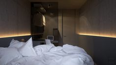 industrial-bedroom-opaque-wardrobe-partition-simple-white-bedding