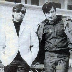 Nadeem Baig And Waheed Murad #Film #Pakistan