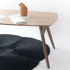Martin Azua's Trees and Rocks<br /> table contrasts wood with marble
