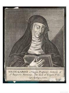 Hildegard of Bingen, mystic, visionary, philosopher & writer