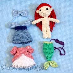Ravelry: Little Mermaid Princess Ariel by Wendy Korz