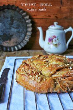 Hoje para jantar ...: Twist Roll de maçã e canela
