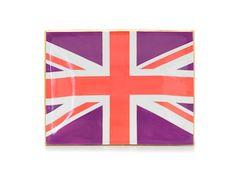 60's flag tray