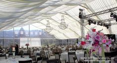 transparent tent - clear top tent - royal tent - wedding ceremony - 30*30m accommodate around 500 people