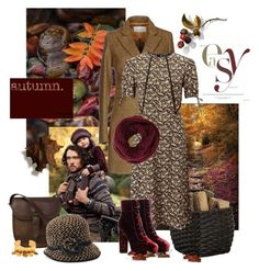 """""""Chic & Easy Autumn"""" by gilleyqwyn ❤ liked on Polyvore featuring Virna Drò, Crate and Barrel, Miss Selfridge, DUBARRY, Betmar, BCBGMAXAZRIA and Nest"""