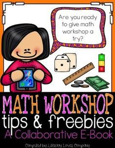 FREE math workshop e-book full of tips and freebies!