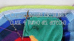 TEJER CON AGUJAS CIRCULARES: Punto Bobo/Santa Clara CLASE 4