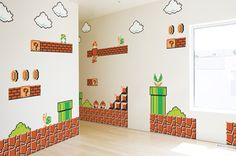Super I so wish I could afford to do this To Hunter's room!!!