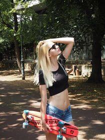 One blondie life: My longboard life // VIDEO + OOTD