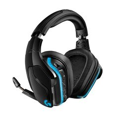 Logitech Wireless DTS:X Surround Sound LIGHTSYNC RGB PC Gaming Headset (Renewed): Gaming Headphones. The most advanced wireless gaming headset yet from Logitech G. GHz wireless delivers premium Sound, complete freedom and a clean Set up without wires. Best Gaming Headset, Gaming Headphones, Wireless Headphones, Xbox Headset, Logitech, Nintendo Switch, Surround Sound, Karaoke, Dog Accessories