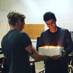 Matthew's birthday ... the mortal instruments, jace herondale, alexander 'alec' lightwood, matthew daddario, shadowhunters, dominic sherwood