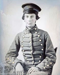 Virginia Military Institute Civil War | 1860 Virginia Military Institute Cadet