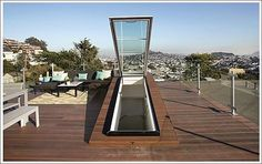 steep stairs to rooftop deck | Rooftops