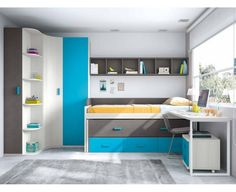 Dormitorio Juvenil Modelo Basic 2
