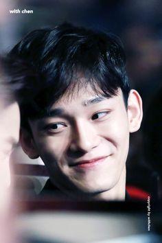 Damn his smile. Baekhyun Chanyeol, Exo Chen, Luhan And Kris, Kim Jong Dae, Exo Korean, Exo Ot12, Fandom, Exo Members, K Idols