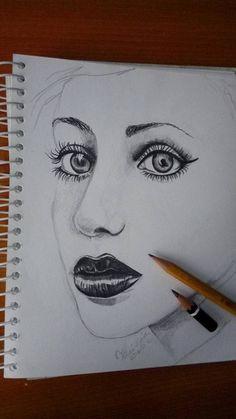 #pencil #face