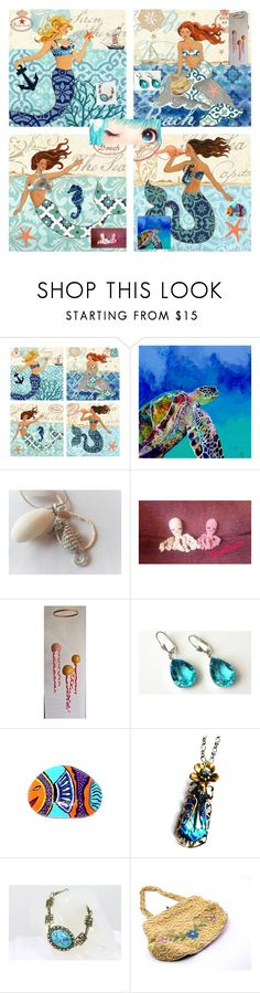 """Mermaid life"" by nanitas23 ❤ liked on Polyvore"