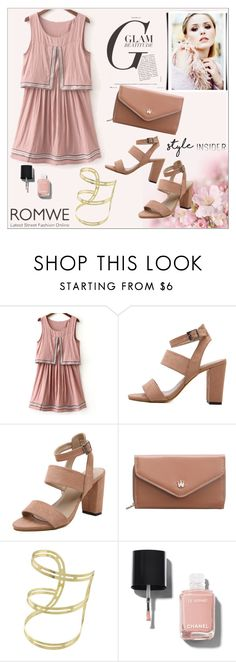 """""""Romwe 10"""" by fashion-addict35 ❤ liked on Polyvore featuring Chanel"""