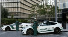 Ferrari for police women in dubai