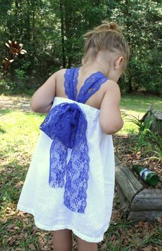 Twist on pillowcase dress