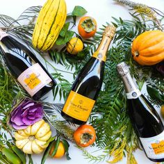 Giving Thanks for Veuve Clicquot!
