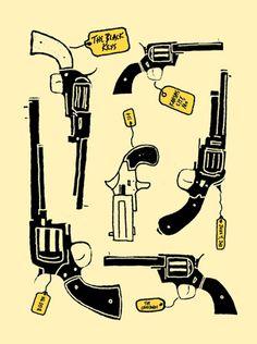 Ben Chlapek. The Black Key's gig poster