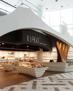 bakery column base displays