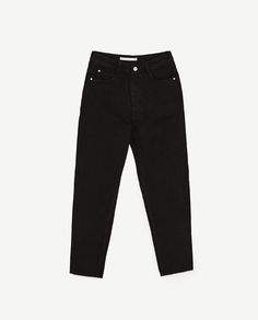 Image 8 of HIGH-RISE ORIGINAL MOM FIT JEANS from Zara