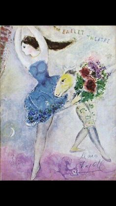 Marc Chagall「The Ballet Theatre」