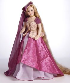 "MARIE OSMOND DOLL *RAPUNZEL ""19.5"" TALL PORCELAIN"