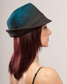 Funk Shui Designs by Jessica de Haas Felt Hat, Wool Felt, Felted Wool, Hat Boxes, Nuno Felting, Felt Crafts, Wool Hats, My Style, Lace