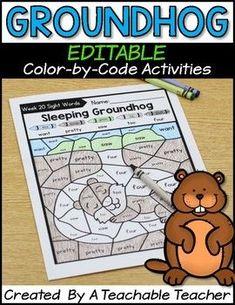 Groundhog Day Activi