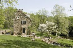 FARMHOUSE – vintage early american farmhouse in historic new england, known as the mine road farm nearby philadelphia by archer and buchanan architecture, ltd.