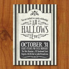 printable spooky halloween party invitation or evite - Evite Halloween Party