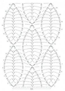 Crochet Lace Shawl Table Runners 67 Ideas For 2019 - Diy Crafts - hadido Crochet Motifs, Crochet Diagram, Crochet Stitches Patterns, Crochet Chart, Knitting Stitches, Crochet Lace, Crochet Hooks, Free Crochet, Stitch Patterns