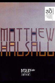 Matthew Halsall en Café Berlín nov 2012