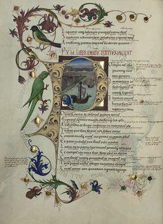 Sammelhandschrift, by Vergilius Maro, Publius, Germany, 15th c. [Ms Pal. lat. 1632] -- 63v-259r Vergilius: Aeneis (cum argumentis Ps. Ovidii I-IV et cum glossis ex Servio) (f°94v)