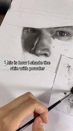 Art Drawings Sketches Simple, Pencil Art Drawings, Realistic Drawings, Drawing Tips, Sketch Drawing, Sketching, Arte Gcse, Art Painting Gallery, Charcoal Art