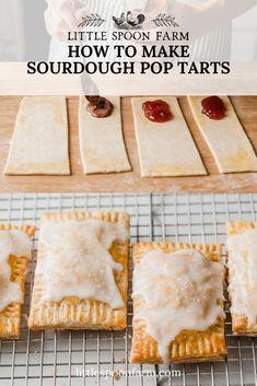 Sourdough Starter Discard Recipe, Sourdough Recipes, Sourdough Bread, Bread Recipes, Homemade Apple Butter, Apple Butter Uses, Homemade Strawberry Jam, Strawberry Filling, Pop Tart Flavors