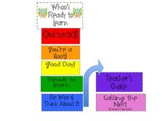 Owl-y Behavior Clip Chart perfect for classroom management